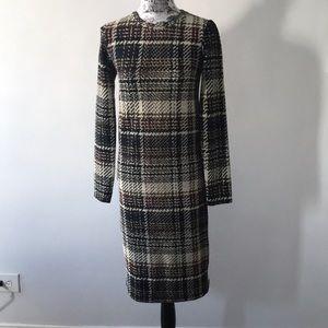 New Zara brown dress